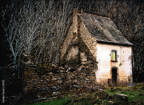 Aluminium Prints Mills Le vieux moulin