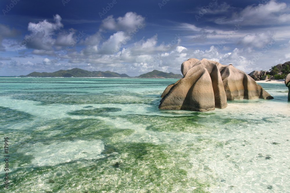 Foto-Doppelrollo - seychelles18