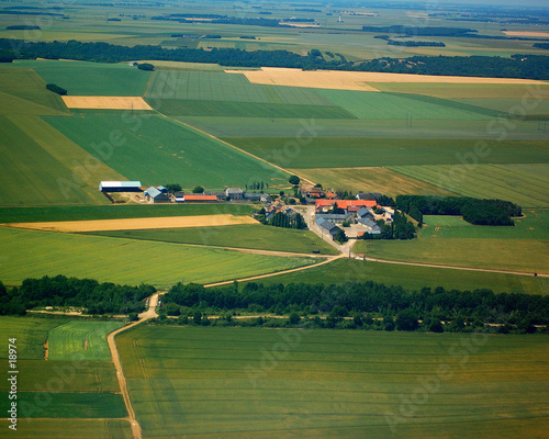 vue aérienne 2 Canvas Print