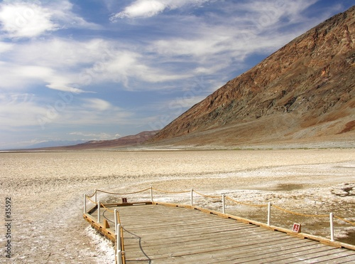 badwater viewpoint ii Wallpaper Mural
