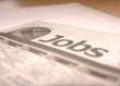 canvas print picture - job search