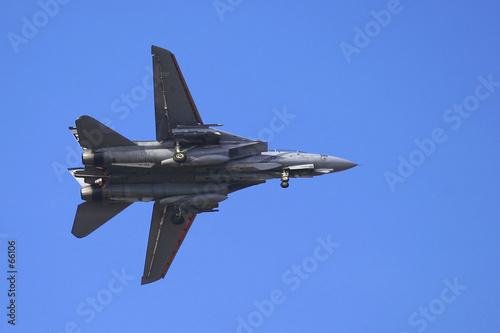 Vászonkép f-14 tomcat from side