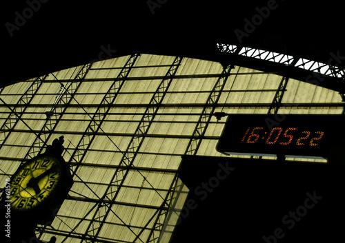 Foto auf AluDibond Bahnhof gare
