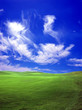 Leinwandbild Motiv green field