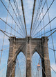 brooklyn bridge cables and tower