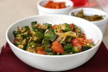 India Food Series - Okra With Pickles