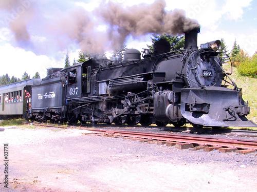 Fototapeta locomotive obraz na płótnie