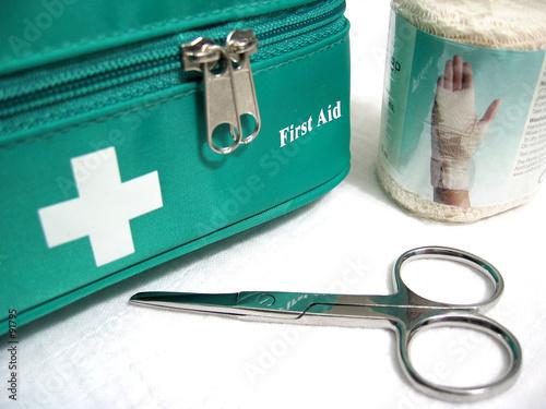 Fotografie, Tablou first aid