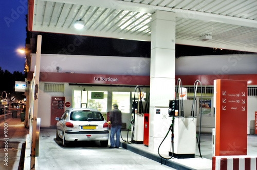 Fotografie, Obraz  gas station ps-42568