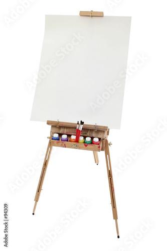 Photo school art easel