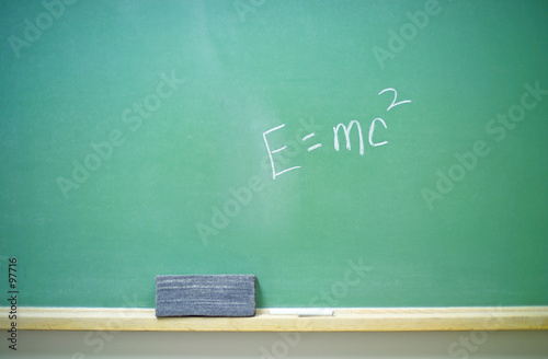 e=mc2 equation 2 Poster