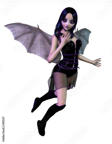 gothic fairy Canvas Print