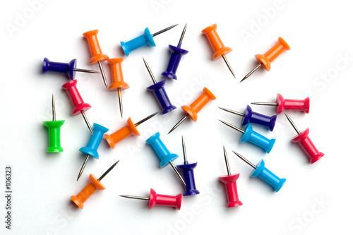 drawing pins - Buy this stock photo and explore similar