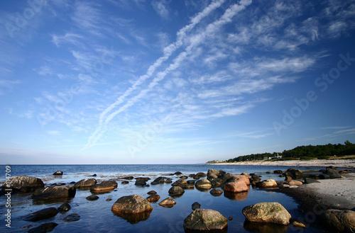 Foto-Schiebegardine Komplettsystem - stones