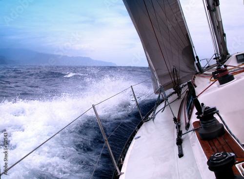 Staande foto Zeilen sailing boat
