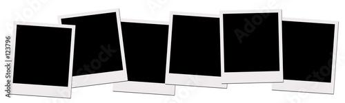 Fototapeta polaroid films (with clipping path) obraz na płótnie