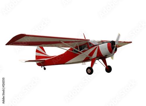 Fotografia, Obraz red airplane, isolated