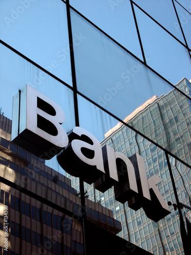 Fototapeta the bank obraz