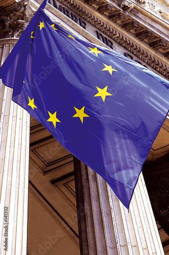 Papel de parede drapeau européen