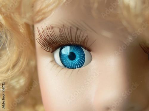 Fotografia, Obraz doll eye close up