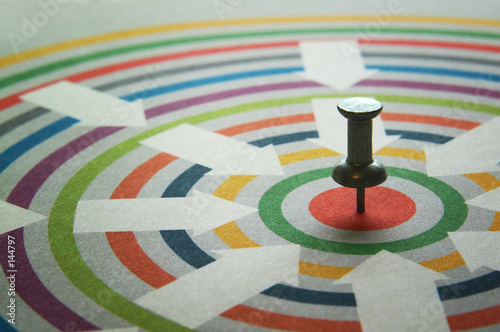 Photo on target