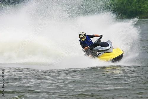 Poster Water Motor sporten jet ski