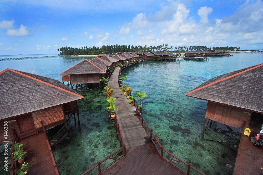 Fototapeta mabul island resort