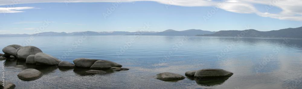 Fototapeta mountain lake panorama #2