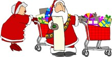 Santa & Mrs. Claus Shopping