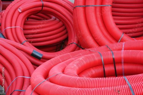 Valokuva  tuyaux rouges