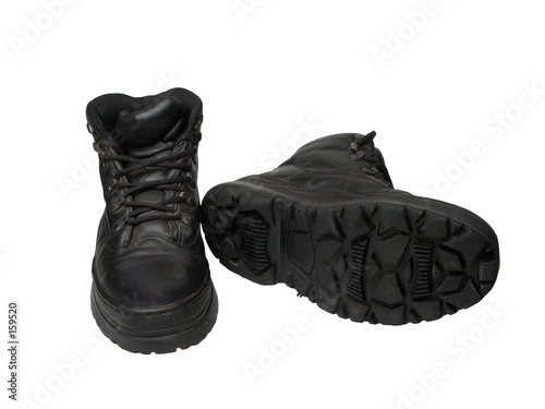 Photo boots pair