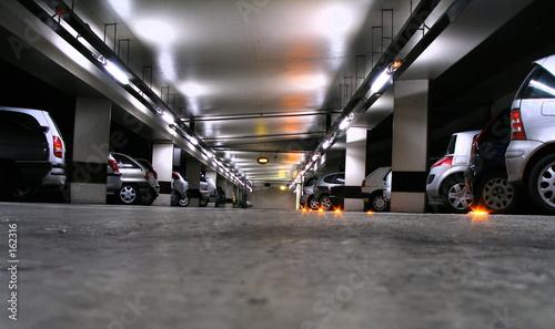 parking Fotobehang