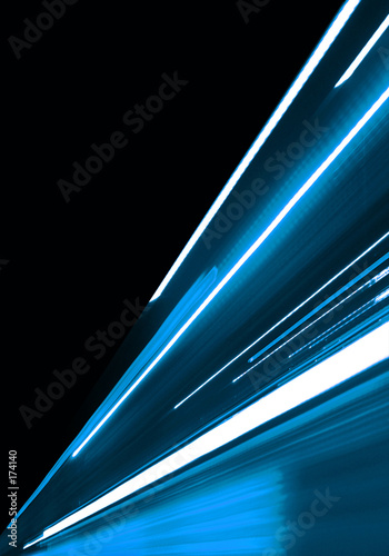 obraz dibond blue motion