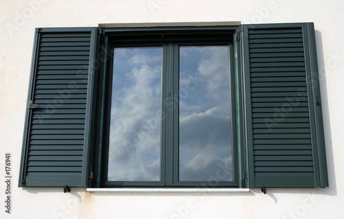 fototapeta na ścianę window reflection
