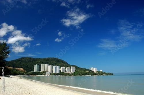 Fotografie, Obraz tanjung bunga beach, pulau penang