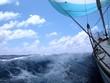 Leinwandbild Motiv sailing with wind