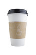 canvas print picture - disposable coffee cup