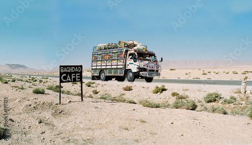 Photo  sur la route de bagdad