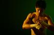 canvas print picture - boxer series