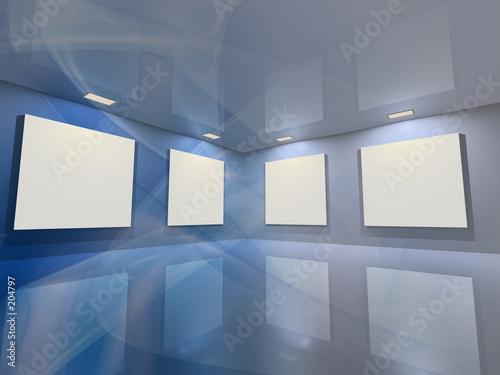Fotografía  virtual gallery - blue