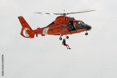 Poster Helicopter us coast guard