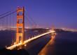 canvas print picture - golden gate bridge