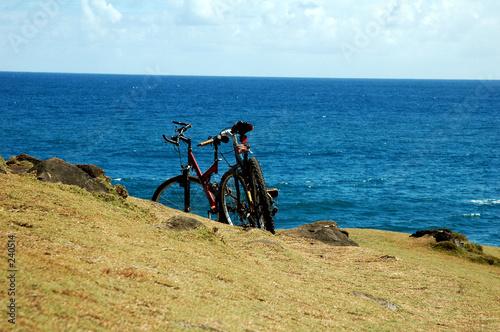 Foto op Plexiglas Fiets balade en vélo (souillac, ile maurice)