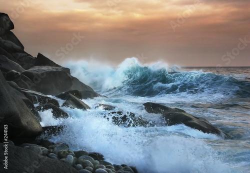Foto-Leinwand - wave