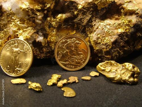 Fotografia, Obraz  gold wealth