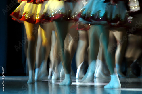 Photo sur Toile Carnaval dancing legs