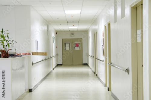 hallway Fotobehang