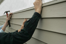 Installing Siding On A House