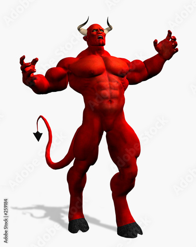 Fotografia angry devil