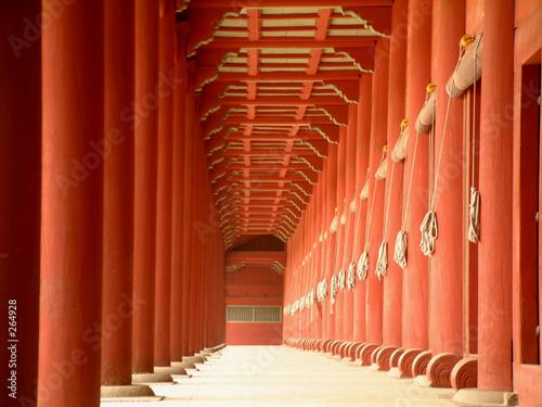 jongmyo (royal shrine), seoul, korea